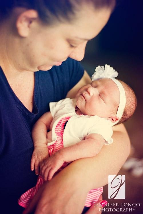 Newborn baby Aubrey