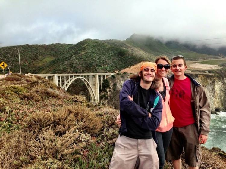 Us and the Bixby Bridge