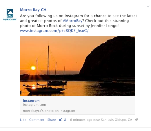 Morro Bay Facebook Shout