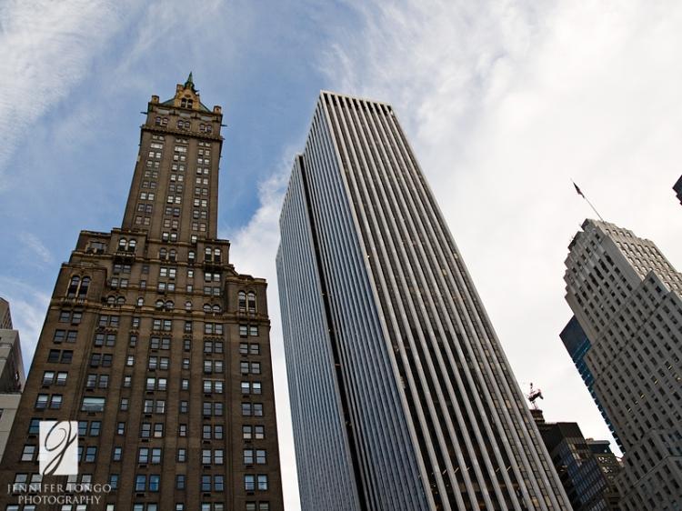 Sky High - Photo of buildings