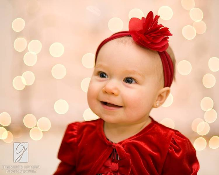 Aubrey's Christmas Portraits