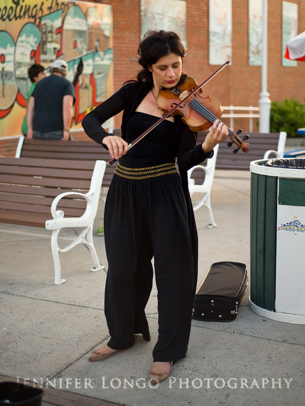 Ocean City, Maryland Boardwalk Violinist