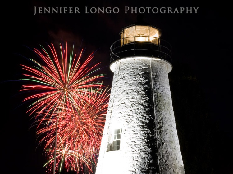 Concord Point Lighthouse Fireworks