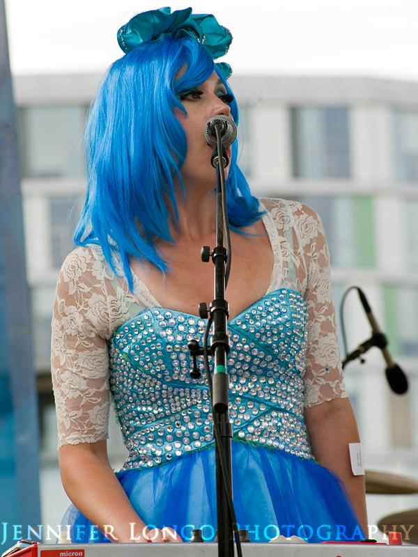 Singer at Artscape