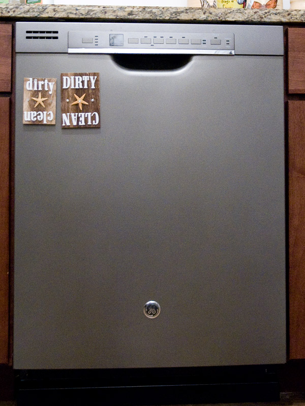 DIY Dishwasher magnet