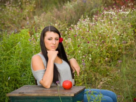 Portrait at the Sunflower Garden