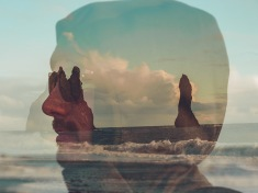 Jennifer Longo Photography - Iceland double exposure