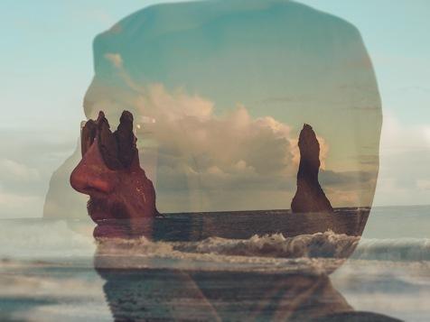 Jennifer Longo Photography - Iceland double exposure